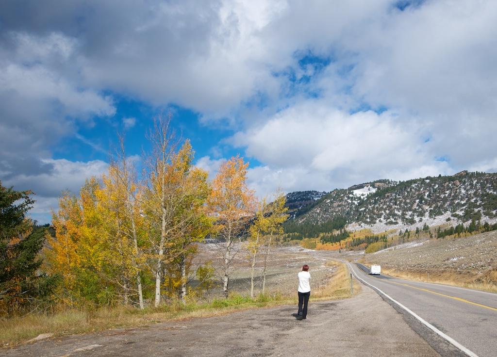 Heading to Grand Tetons NP from Salt Lake City, Utah