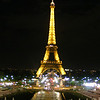 The iconic Eifell tower, Paris