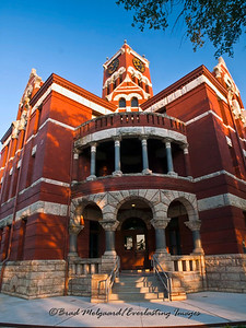 Lee County Court House - Giddings, Texas