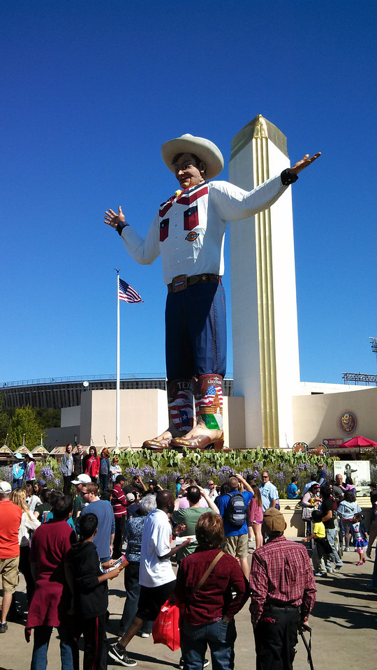 The NEW Big Tex!
