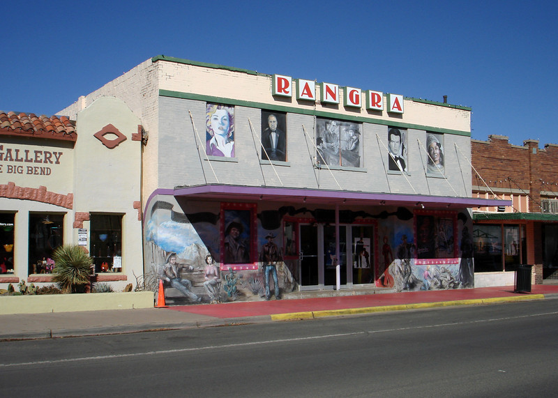 THE RANGRA THEATER<br /> Alpine, Texas<br /> <br /> This is the only active movie theater in the Big Bend area, that I'm aware of.