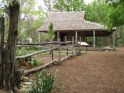 A settler's homestead