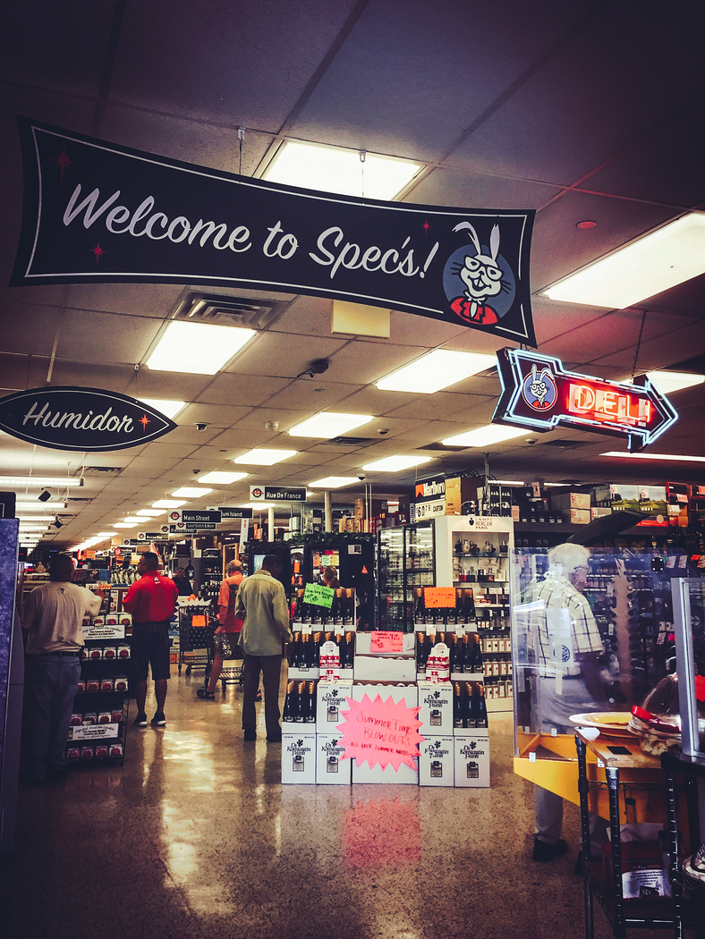 Specs Liquor in Houston is also home to one of the city's best deli counters. Discover where else to eat in Houston.