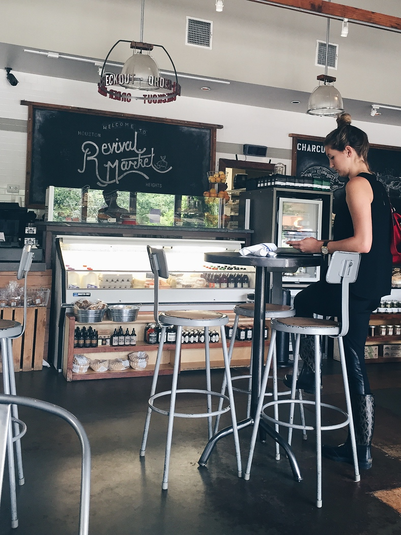 Revival Market is one of the best restaurants in Houston, formerly a market it has evolved into a restaurant.