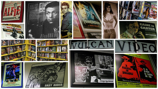Ditch the Blockbuster Blahs with a visit to Vulcan Video, specializing in foreign, cult and classic movies.  Take some time to enjoy the memorabilia at Vulcan.  Two locations in Austin--this one's at 609 W. 29th / 78705, close to the University of Texas campus.