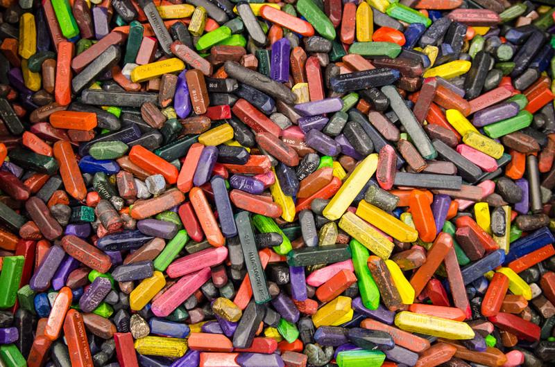Pastelky / Crayons