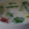 A delicious soup we made - Thai cooking course.
