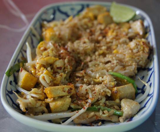 Yummy Pad Thai - Chiang Mai, Thailand.