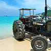 Beach tractor