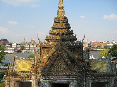 From Wat Arun back across Chao Phraya River