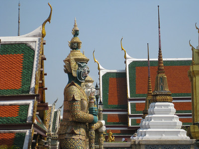 Guardians of Wat Phra Kaeo