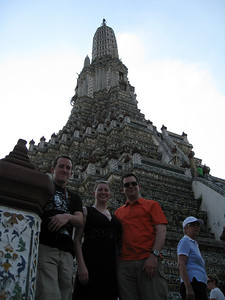Eric, Corey and Chase @ Wat Arun