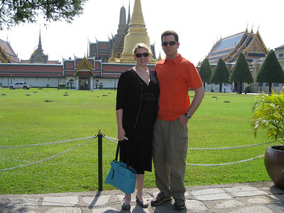 Entrance to Wat Phra Kaeo & Grand Palace