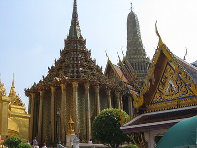 Phra Mondop, the library