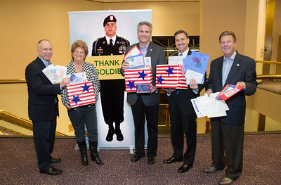 Thank a Soldier cards - 2015