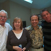Don, Haiseal, Brent and Kevin...blurry but good