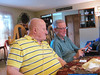Grandpa Ed Gormley suffering Jim's smartphone mania