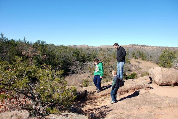 Thanksgiving - 2012 - Wichita Mountains Trip