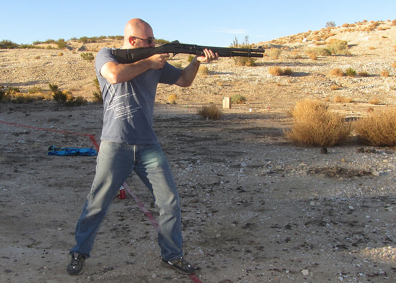 Gary (Son-In-Law) with my Bernelle Super 90
