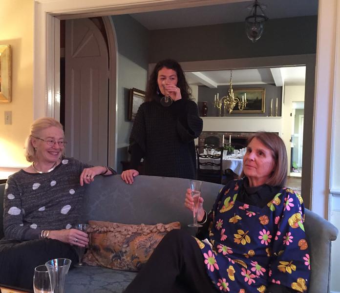 Evelien, Katie & Claire.