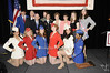 Honoree  Major General Patricia D. Horoho & family with   the USO Liberty Bells<br /> photo by Rob Rich © 2009 robwayne1@aol.com 516-676-3939