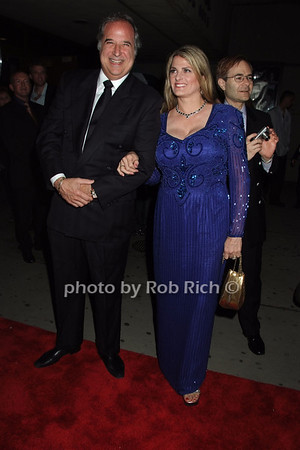 Stewart Lane, Bonnie Comley (producers - The 39 Steps ) photo by Rob Rich © 2008 robwayne1@aol.com 516-676-3939