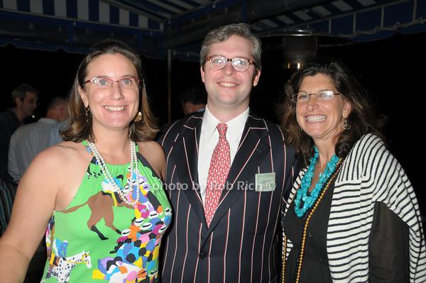 Samantha Farkas, Van Furniss, Cindy Farkas Landroff<br /> photo by Rob Rich © 2009 robwayne1@aol.com 516-676-3939