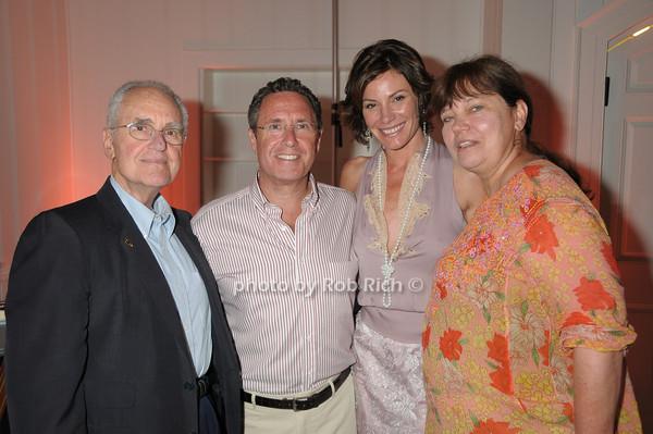 Robin Farkas, Andrew Farkas, Luann de Lesseps, Patti Watt<br /> photo by Rob Rich © 2009 robwayne1@aol.com 516-676-3939