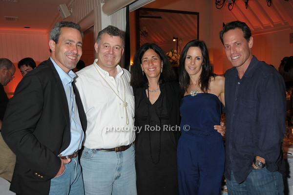 Sheldon Werdiger, William Lauder, Miki Werdiger, Sara Pilot, Ken pilot<br /> photo by Rob Rich © 2009 robwayne1@aol.com 516-676-3939
