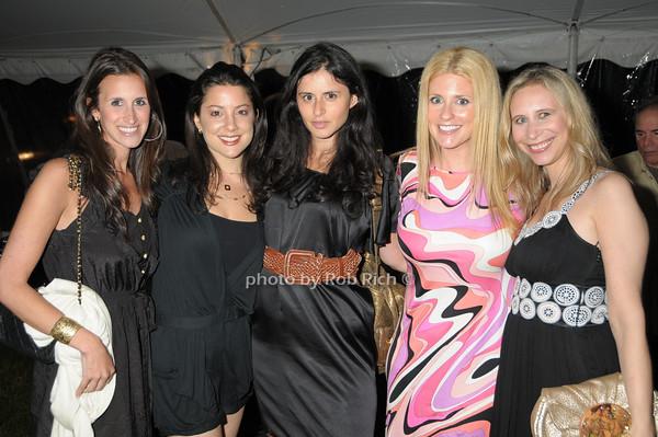 Jen Rosenthal,, Heather Sachs, Jill Kaplan, Ellen Cohen, Julie Rosenthal<br /> photo by Rob Rich © 2009 robwayne1@aol.com 516-676-3939