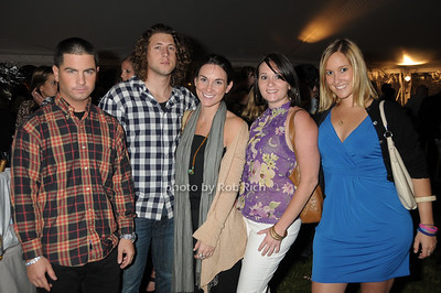 Josh Newberg,, Michael Quiros, Leann Bulgin, Stacy Marchisella, Elizabeth Marchisella photo by Rob Rich © 2009 robwayne1@aol.com 516-676-3939