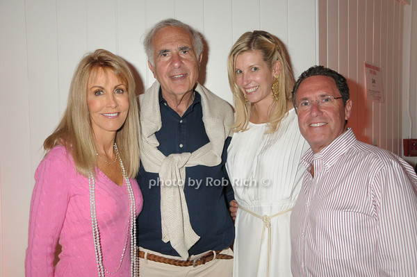 Gail Icahn, Carl Icahn, Sandi Farkas, Andrew Farkas<br /> photo by Rob Rich © 2009 robwayne1@aol.com 516-676-3939