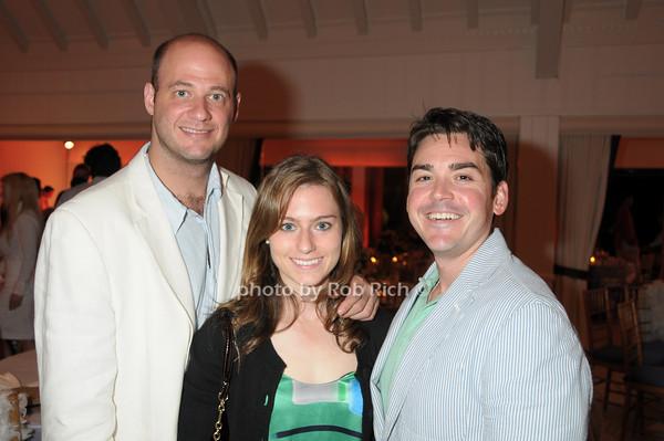 Andrew Darrow, Christine Mantioia, Mike Giordano<br /> photo by Rob Rich © 2009 robwayne1@aol.com 516-676-3939