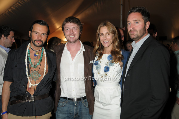 Russell Labosky, Colin Graham, Cristina Greeven Cuomo, Erik Cahas<br /> photo by Rob Rich © 2009 robwayne1@aol.com 516-676-3939