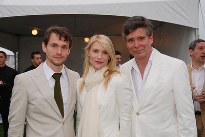 Hugh Dancy, Claire Danes and Jay McInerney  photo by Rob Rich © 2009 robwayne1@aol.com 516-676-3939