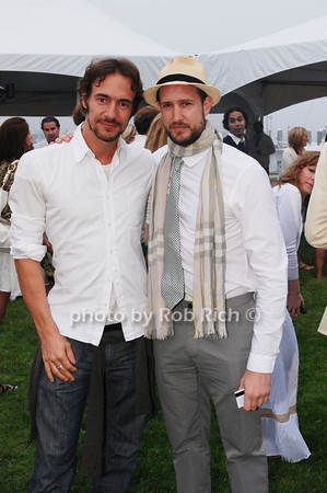 Thomas Hayo and Lyman Carter<br />  photo by Rob Rich © 2009 robwayne1@aol.com 516-676-3939