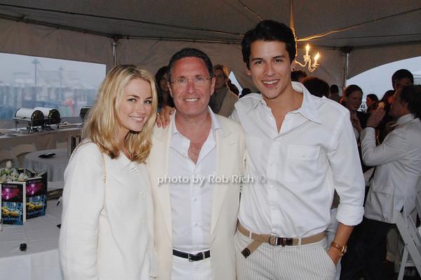 Amanda Hearst, Andrew Farkas and Luigi Tadini<br />  photo by Rob Rich © 2009 robwayne1@aol.com 516-676-3939