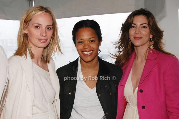 Lauren Santodomingo, Bonnie Morrison and Anna Maria Perez<br />  photo by Rob Rich © 2009 robwayne1@aol.com 516-676-3939