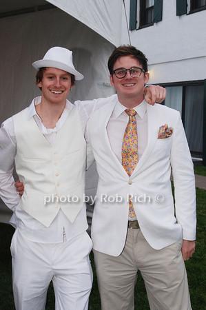 Alexander and Jonathan Stein<br />  photo by Rob Rich © 2009 robwayne1@aol.com 516-676-3939