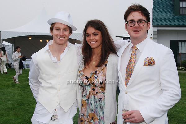 Alexander Stein, Lindsay Raye and Jonathan Stein<br />  photo by Rob Rich © 2009 robwayne1@aol.com 516-676-3939