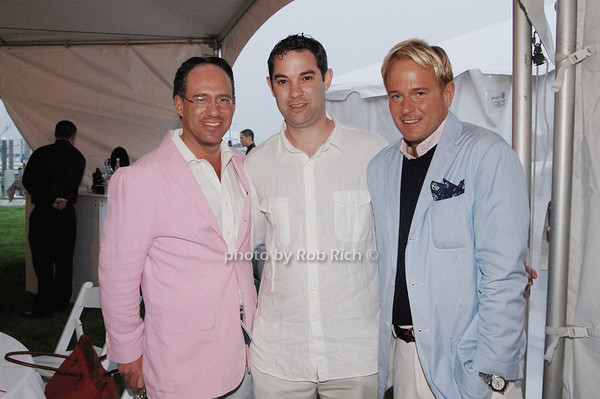 Andrew Saffir ,Sean Sax and Daniel Benedict<br />  photo by Rob Rich © 2009 robwayne1@aol.com 516-676-3939
