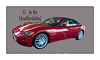 I think this is a 2013 Ferrari California, styled by Pinin Farina, 490HP; started life as a Maserati.  After the Ferrari's 2005 split from Maserati, Ferrari kept the program as a Ferrari.  Seen outside a casiino in Las Vegas.