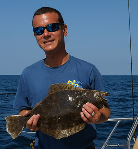 """""""Fish Hog"""" Capt Dean Lo was serving as Mate today......swell fellow and great fisherman!"""