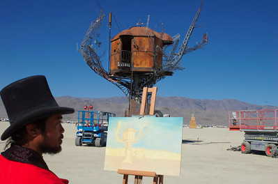 The Artist - Burning Man 2007