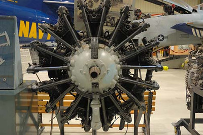 "Stock image of  Pratt and Whitney R-985 ""Wasp Junior"" airplane engine.  Displayed in The Aviation Museum of Kentucky at the Blue Grass Airport in Lexington Kentucky USA"