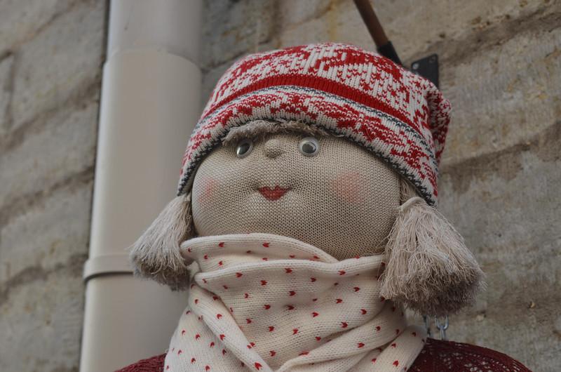 Hey Sweetie-taken outside a shop in Estonia