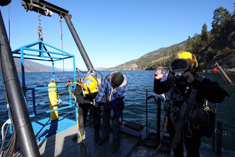 On this particular day, both divers were spending 45 minutes at 130ft.  Recreational divers, try finding that on the RDP!