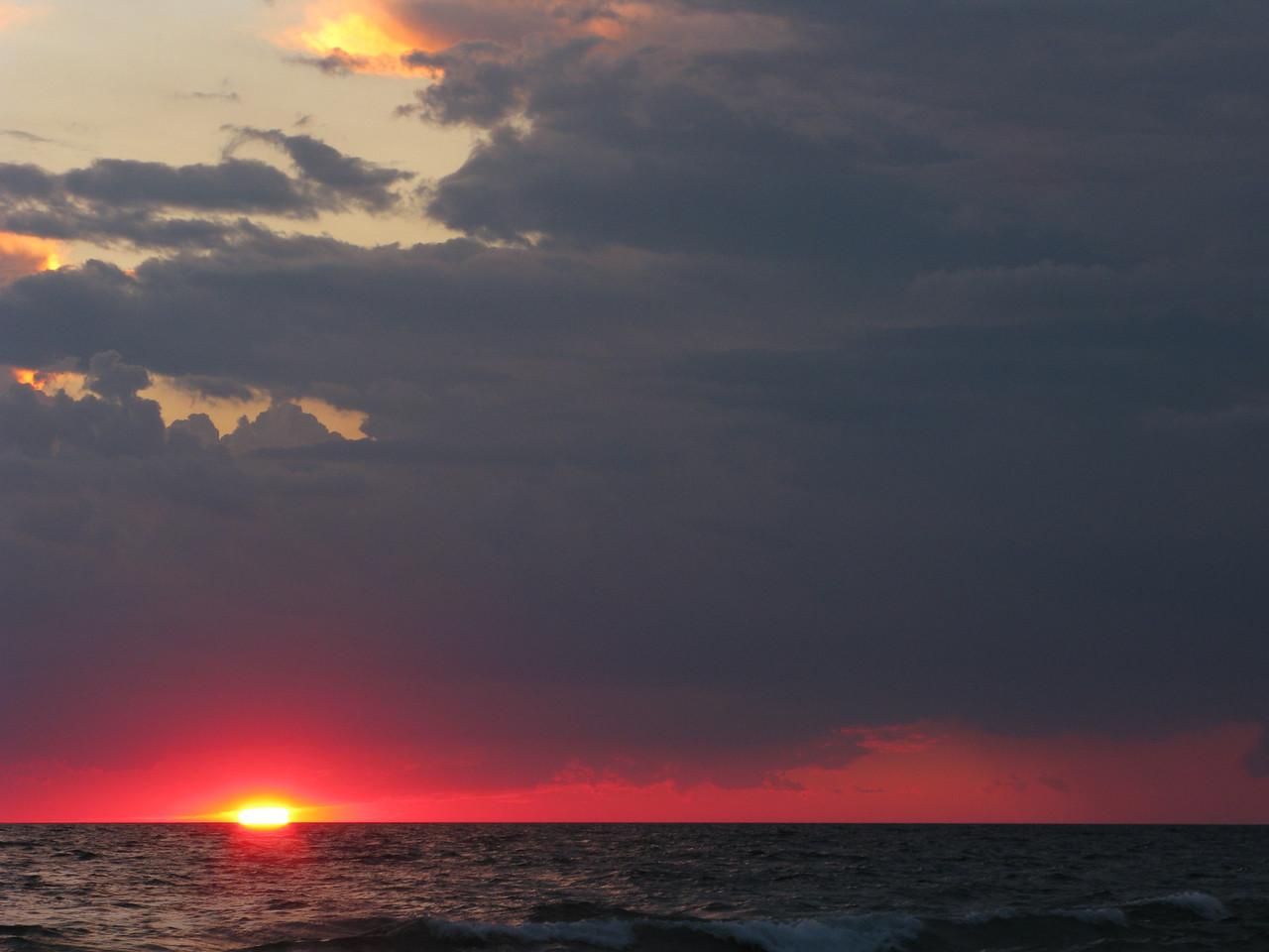 Classic Lake Michigan Summer Sunset