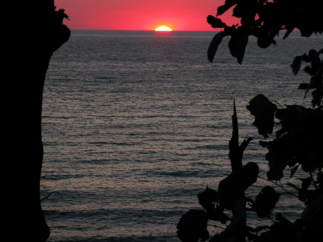 Another Lake Michigan Sunset. 2009. I guess the year doesn't matter, they've been happening for thousands of years just like this.