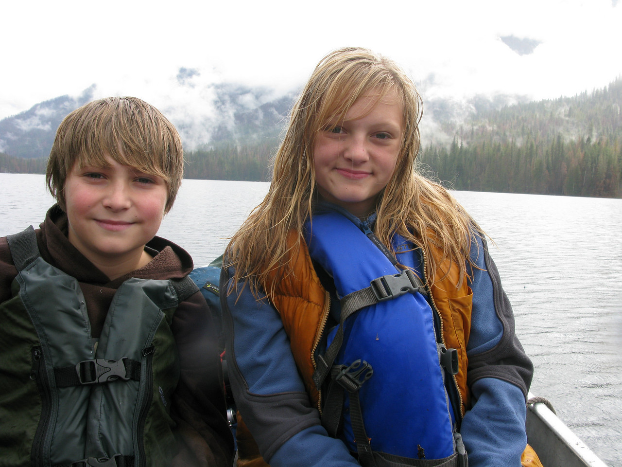 Brother and Sister on moist Domke Lk 10/2008.